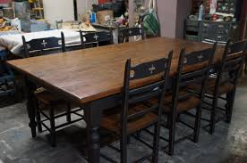table en bois de cuisine plan meuble en bois de palette 5 table de cuisine dessus fait