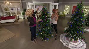 Bethlehem Lights Christmas Trees Qvc by Ed On Air Denmark Tree With Retro C9 Bulbs By Ellen Degeneres On
