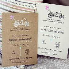 A Bicycle Built For Two Weddinginvitation Weddingstationery Screenprint Rustic WeddingBicycleArrowStationeryHeartsBicycle