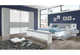 schlafzimmer set virgo in weiß beton lichtgrau 180x200 mit