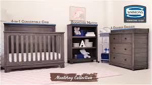 4 Drawer Dresser Target by Simmons Kids Monterey Collection Youtube