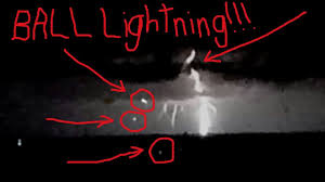 REAL BALL LIGHTNING CAUGHT ON TAPE Meteor