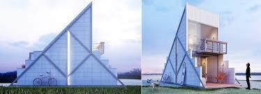 100 Prefab Architecture Felipe Campolinas 40 Sqm Microhabitat Is A Prefab Refuge In The