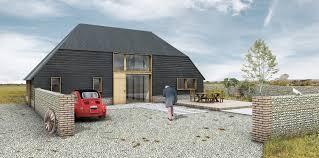 100 Modern Barn Conversion South Footprint Architects