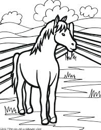 Coloring Pages Animals Farm In Winter Animal Free Realistic Full Size