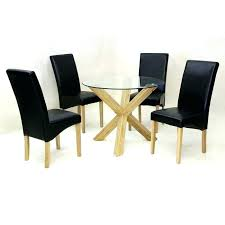 Ebay Chairs And Tables by Dining Table Round Dining Table And 4 Chairs Ebay Glass Top