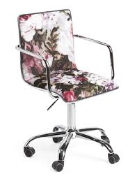 Phoebe Floral Velvet Office Chair | City Apartment - Small ... Lounge Chairs Sold At Marshalls Tj Maxx Recalled For Risk Black Frame 18inch Directors Chair Ding Room Unique Interior Design With Exciting Best Outdoor Folding Chairs Porch And Patio Apartment High Resolution Image Heart Eyes In 2019 Desk Chair Smallspace Fniture From Popsugar Home Table Cheap And Decor Metal Wood Shelves Wingback Goods Beautiful Kids Adirondack