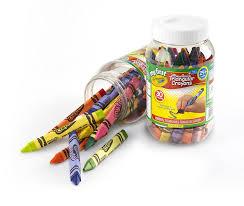 Crayola Bathtub Crayons Collection by Amazon Com Crayola My First Triangular Crayons In Storage