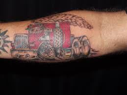 100 Semi Truck Tattoos By Evil Anjel Evil Anjel Flickr