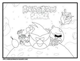 Space Coloring Book Printable Pdf Amazon Createspace Free Angry Birds Pages Medium Size