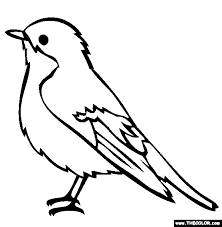 Perfect Coloring Pages Birds Page Ideas