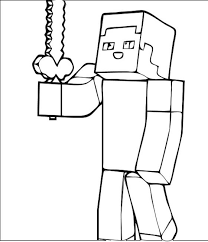 Minecraft Coloring Pages Photo