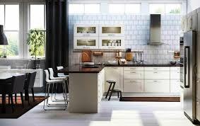 Functional White IKEA Kitchens Design Ideas