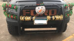 100 Stevens Truck Driving School Editors Column A Traveling Christmas Decoration County Times