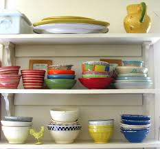 A Country Kitchen Is Hardly Complete Without Colorful Dishware