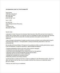Sample Cover Letter For Fresh Graduate Human Resource Howtoviews Co