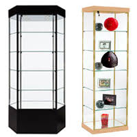 display cases acrylic metal glass counters cabinets