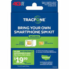 TracFone TFMATKTP4C Bring Your Own Smartphone SIM Kit