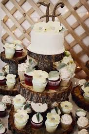 Rustic Cupcake Stands For Weddings