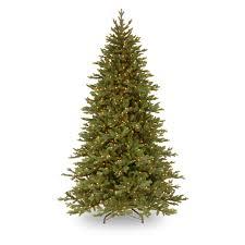 Fiber Optic Christmas Trees On Sale by 7 5 Ft Feel Real Yukon Fir Hinged Pre Lit Christmas Tree Hayneedle