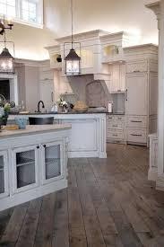 Best 25 Rustic White Kitchens Ideas On Pinterest Large Kitchen Throughout Idea 1