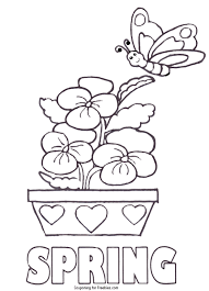 Advice Free Spring Coloring Pages Printable 50 Unique Image Of Page With Easy For Kids
