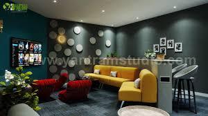 100 Luxury Modern Interior Design ArtStation Media Room By Yantram 3D