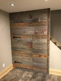 100 Year Old Ontario Barn Board Wall With Hidden Door To Storage ... Hey I Found This Really Awesome Etsy Listing At Httpswwwetsy Fniture Amazing Refurbished Wood Fniture Ding Table Coffee Angora Reclaimed 48 Zin Home Tables Square Bench Plans With Storage Benches For Sale Ontario Legs Dressers Canada Yosemite 7 Drawer Chunk Reclaimed Barn Beam Bench On Industrial Look Steel Legs By Grey Board Feature Wall Bnboardstorecom Barn Beam Two Barnwood Custommade Com Old Board Siding Lumber