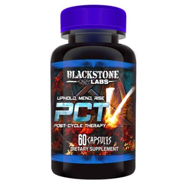 Blackstone Labs PCT V Sports Supplement - 60 Capsules