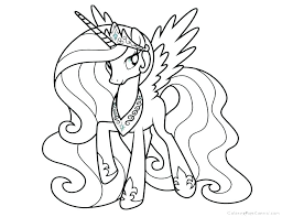 My Little Pony Rarity Coloring Pages Page Online Princess Cadence Sheets Rainbow Dash Equestria Girl Cade