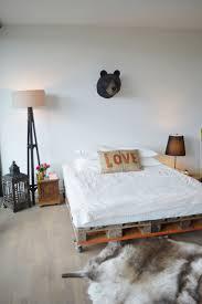 Pallet Bed Frame by 126 Best Pallet Bed Images On Pinterest Pallets 3 4 Beds And Diy