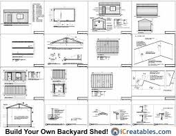 Shed Plans 16x20 Free by Free 16 20 Storage Shed Plans Pdf Concrete Tiny House Plans