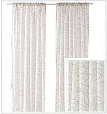 Ikea Sanela Curtains Brown by Ikea Sanela Dark Brown Curtains 2 Window Panels Blackout Cotton