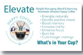4 Day Sample Pack Of Elevate Coffee And Xanthomax Naturally Promote Your Bodys Own Happiness Hormones