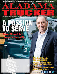 Alabama Trucker, 3rd Quarter 2018 By Alabama Trucking Association ...