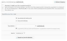 bureau d enregistrement nom de domaine comment coupler votre nom de domaine à votre hébergement combell
