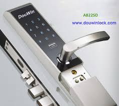 Double Latch Mobile Phone Display Code Nfc Door Lock Buy Mobile