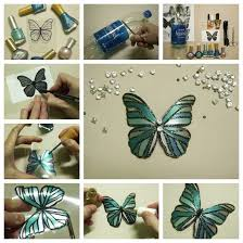 Butterfly Made With Plastic Bottles F