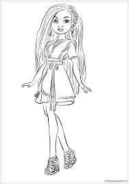 Descendants 2 Coloring Pages Carlos Best Images On Colouring From Wicked World S