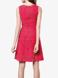 alaïa micro dot dress day dresses browns fashion