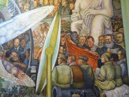 Diego Rivera Rockefeller Mural by Mexico City Alameda Central Active Boomer Adventures