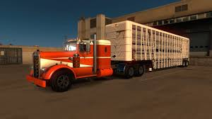 American Truck Simulator: Old School Kneworth 521 Livestock Haul ...
