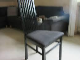 6 esszimmerstühle holz schwarz