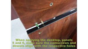 Furinno Computer Desk 11193 by Reception Gallery Assembly Video Youtube