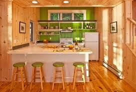Changing Mood Of Modern Kitchen Design And Decor With Relaxing Green Colors