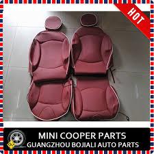 housse siege mini cooper marque nouveau importé pu matériel noir bord couleur mini
