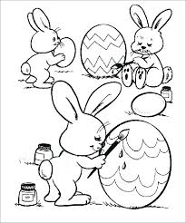 Happy Easter Coloring Pages Fun Free Printable Religious For