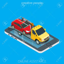 Flat Isometric Tow Truck Evacuator Car On Smartphone Vector ... Auto Car Transportation Services Tow Truck With Crane Mono Line Grand Island Ny Towing Good Guys Automotive City Road Assistance Service Evacuator Delivers Man And Stock Vector Illustration Of Mirror Flat Bed Loading Broken Stock Photo Royalty Free Bobs Garage Flatbed Isometric Decorative Icons Set Workshop Illustrations 1432 Icon Transport And Vehicle Sign Vector Clipart 92054 By Patrimonio