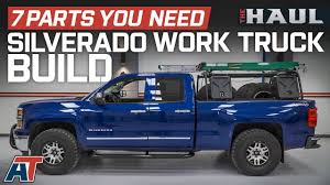 The 7 Parts You Need For Your 2014 Chevy Silverado Work Truck - The ...