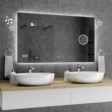 spiegel dubai badspiegel mit led beleuchtung wandspiegel